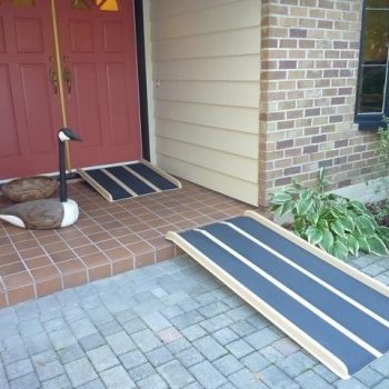 Fiberglass Portable Wheelchair Ramp