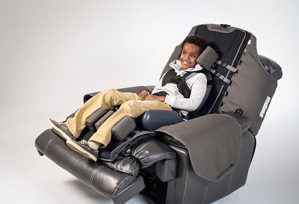 Special Needs Recliner Support System 2