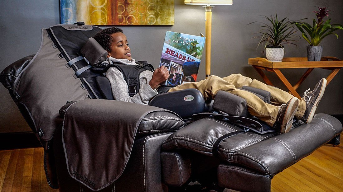 Special Needs Recliner Support System 4