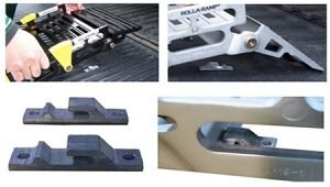 Portable Wheelchair Ramp Roll a ramp Tailgate Mounting Bracket